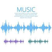 Vector sound waves. Music Digital Equalizer. Audio technology, m