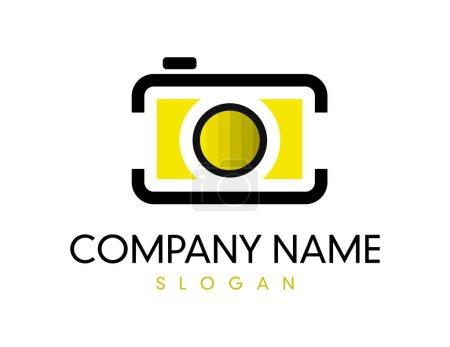 camera logotype on white background