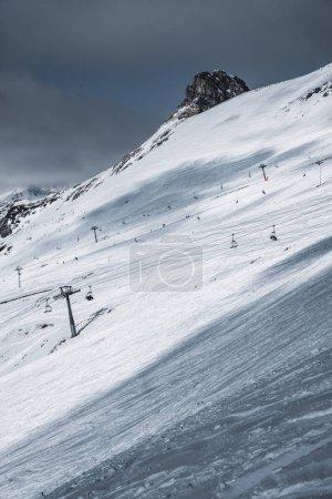 Ski resort Dombay, Karachay-Cherkessia, Russia