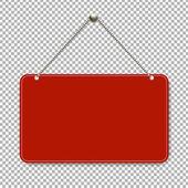 red door sign