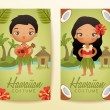 Boy and girl in national costume : Vector Illustra...