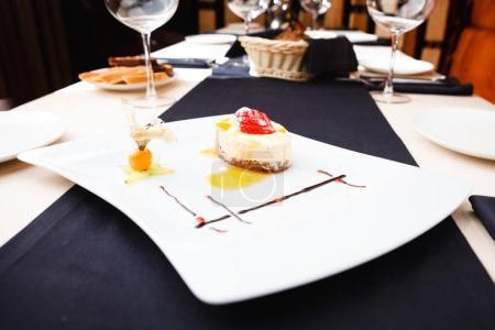 Sea buckthorn cheesecake