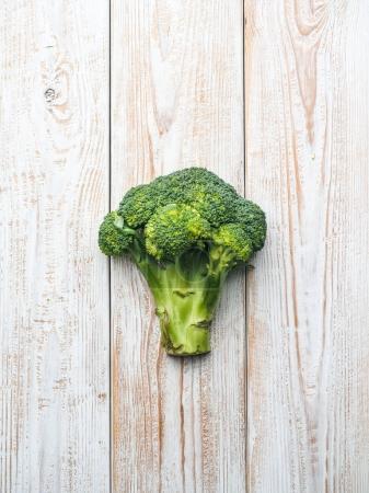fresh ripe branch of Broccoli