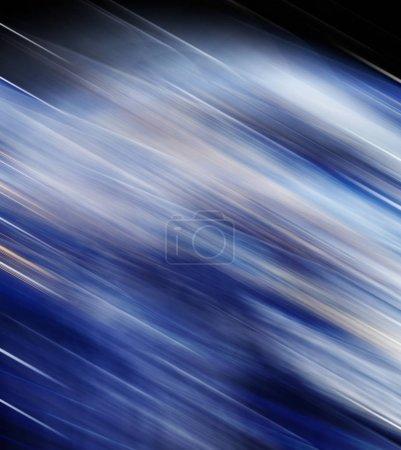 Foto de Fondo azul abstracto, líneas hermosas y desenfoque - Imagen libre de derechos