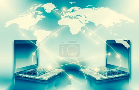 Photo for Best Internet Concept of global business from concepts series - Royalty Free Image