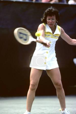 tennis player Billie Jean King