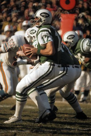 Joe Namath of the New York Jets