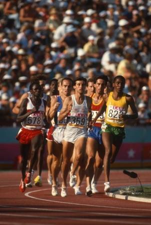 Sebastian Coe British Distance Runner