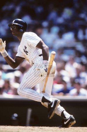 Photo pour Bernie Williams des Yankees de New York - image libre de droit