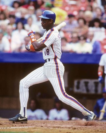Photo pour Darryl Strawberry des Mets de New York. - image libre de droit