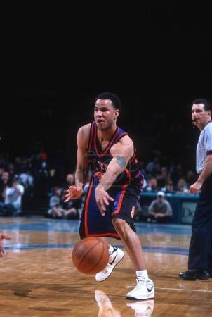 Rick Brunson of the New York Knicks