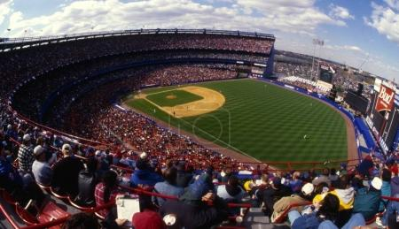 Baseball Stadium Shea Stadium home of the New York Mets