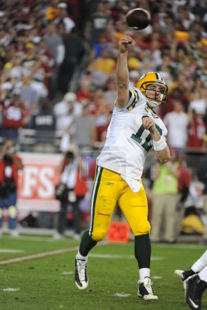 Aaron Rodgers passes for four Touchdowns at today's NFL Wildcard