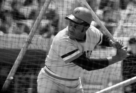 Photo pour Willie Stargell des Pirates de Pittsburgh. - image libre de droit
