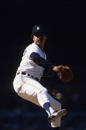 Willie Hernandez of the Detroit Tigers
