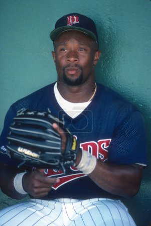 Kirby Puckett of the Minnesota Twins