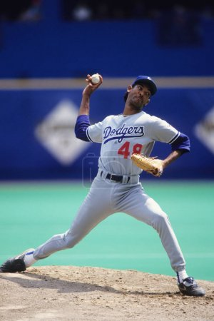 Roman Martinez Pitcher for the Los Angeles Dodgers.