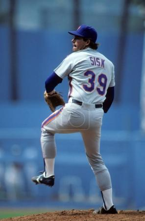 Doug Sisk Pitcher for the New York Mets.