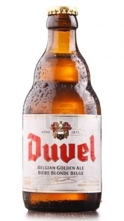 Bottle of Duvel beer