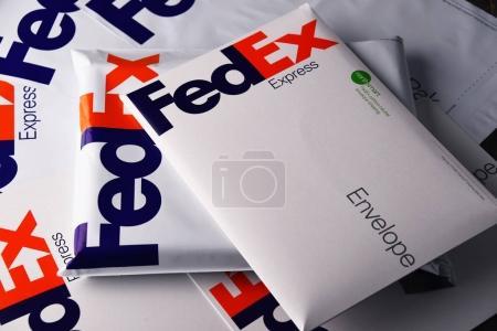 FedEx envelopes and parcels