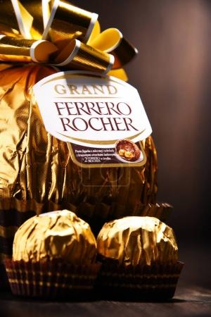 Ferrero Rocher chocolate sweets
