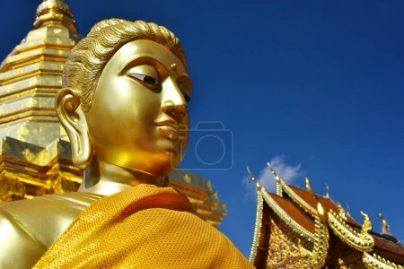 Wat Phra That Doi Suthep temple in Chiang Mai Province, Thailand