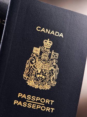 Composition with two Canadian passports