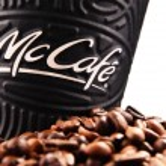 POZNAN, POLAND - MAR 7, 2018: McCafe cup of coffee...