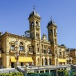Постер, плакат: City Hall of Donostia San Sebastian Spain