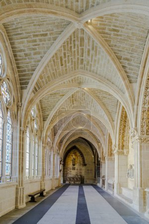 Cloister of the cathedral of Burgos