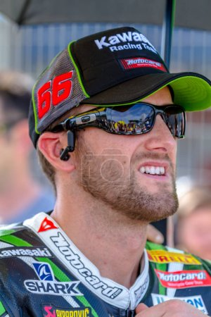 Tom Sykes pilot of Superbikes