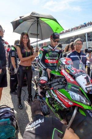 Jonathan Rea pilot of Superbikes
