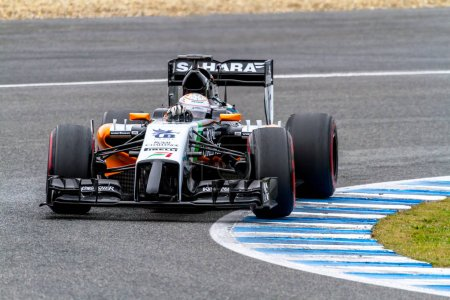 Force India F1 racing