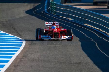 Fernando Alonso of Scuderia Ferrari F1