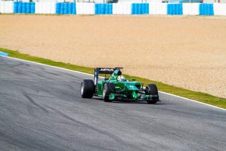 Marcus Ericsson of Caterham F1