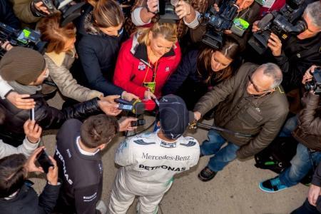 Lewis Hamilton of Mercedes AMG Petronas F1