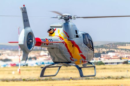 Helicopter of Patrulla Aspa