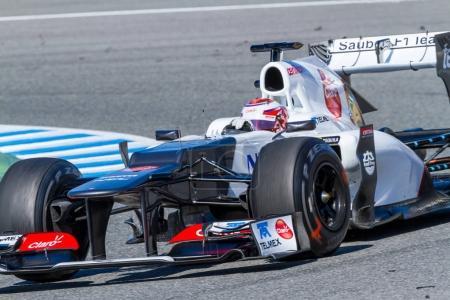 F1 training session