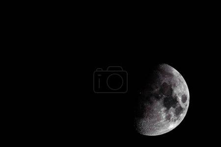 details of lunar surface.