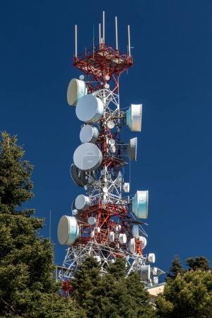 Big communications tower