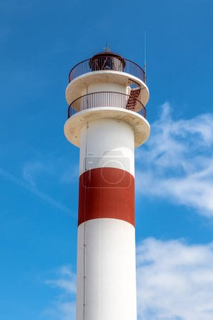 New lighthouse in Rota, Cadiz, Spain