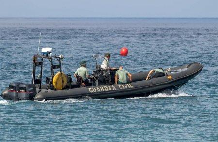 Guardia Civil coast guard patrol