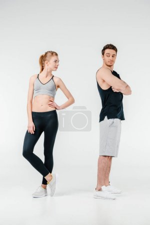 Young fit couple