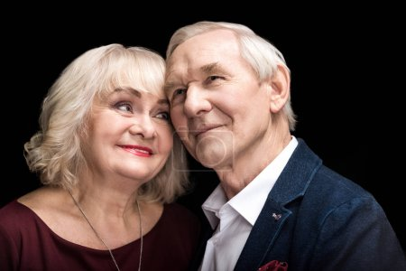 Happy senior couple
