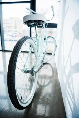hipster bike at wall