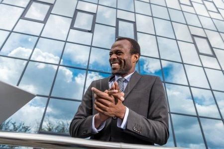Empresario afroamericano exitoso