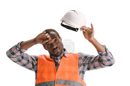 construction worker in helmet