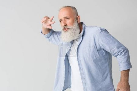 dancing bearded man
