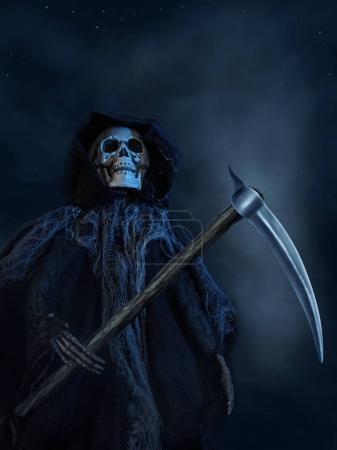 The Death with a scythe