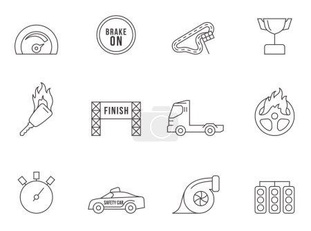 Racing icons series